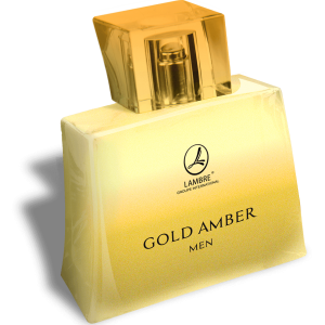 GOLD AMBER MEN by LAMBRE APA DE TOALETA PENTRU BARBATI 75ML EDT75ML GOLD AMBER MEN