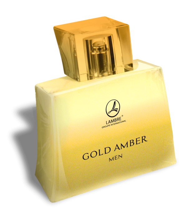 GOLD AMBER MEN by LAMBRE APA DE TOALETA PENTRU BARBATI 75ML EDT75ML GOLD AMBER MEN